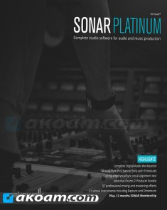 برنامج Cakewalk SONAR Platinum 23.1.0.32 with Plugins