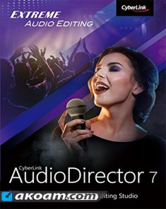 برنامج تحرير الصوتيات CyberLink AudioDirector Ultra 7.0.7320.0 Multilingual