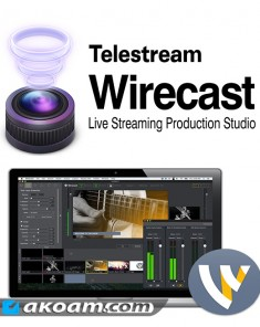 برنامج Telestream Wirecast Pro v7.4.0 Multilingual