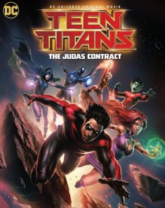 فيلم Teen Titans: The Judas Contract 2017 مترجم