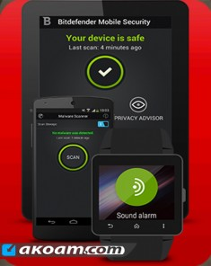 برنامج Bitdefender Mobile Security & Antivirus v3.2.89.131