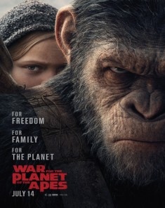 فيلم War for the Planet of the Apes 2017 مترجم HDCAM