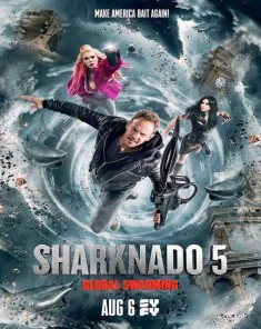 فيلم Sharknado 5: Global Swarming 2017 مترجم
