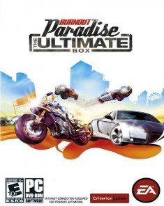 لعبة Burnout Paradise The Ultimate Box ريباك فريق RG Mechanics