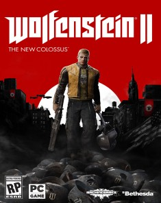لعبة Wolfenstein II The New Colossus + Update 6 + 4 DLCs  نسخة ريباك فريق Fitgirl