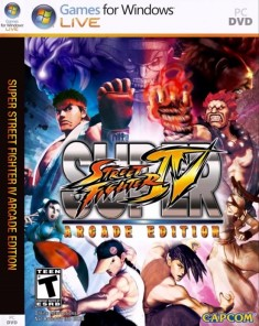 لعبة Street Fighter IV Arcade Edition ريبِاك فريق RG Mechanics