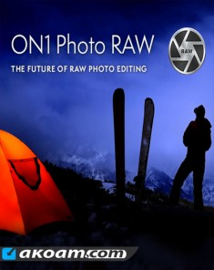 برنامج ON1 Photo RAW 2018 v1-12.1.1.5088