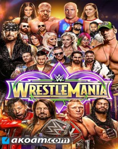 مهرجان WWE WrestleMania 34 2018