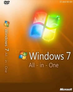 ويندوز Windows 7 Aio SP1 July 2018