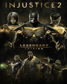 لعبة Injustice 2 Legendary Edition + All DLCs نسخة ريباك فريق Fitgirl