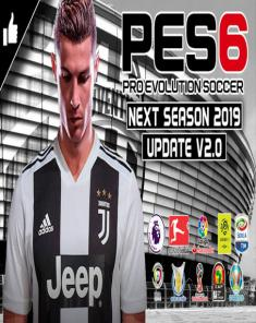 باتش PES 6 Next Season Patch 2019 - New Update v2.0