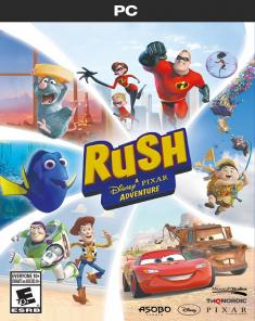 لعبة RUSH A Disney PIXAR Adventure كاملة بكراك CODEX