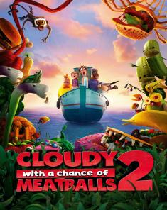 فيلم Cloudy with a Chance of Meatballs 2 2013 مترجم