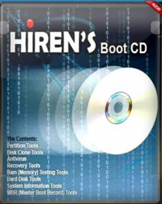 اسطوانة الهيرين Hirens BootCD WinPE10 Premium Build 181211