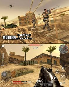 لعبة Call of Modern World War FPS Shooting Game MOD للأندرويد