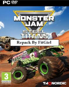 لعبة Monster Jam Steel Titans ريباك فريق FitGirl
