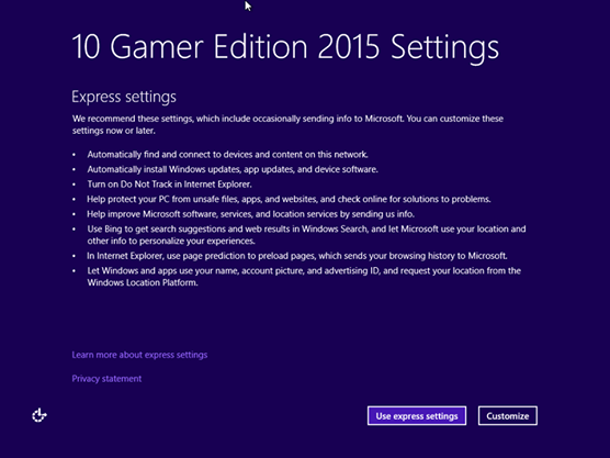 Windows 10 Gamer Edition 2015 by http://jembersantri.blogspot.com